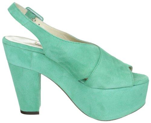 LAutre Chose Sandalo Donna LD3220.13GPT05406025 - Sandalias de vestir de ante para mujer Verde
