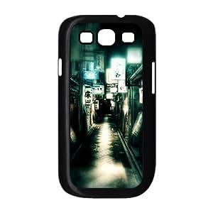 Samsung Galaxy S3 9300 Cell Phone Case Black Japan Kyoto Street OJ607656