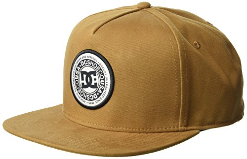 DC Men's CRESTY Snapback Trucker HAT, Wheat, 1SZ -