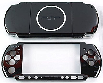NEW Replacement Sony PSP 3000 Console Full Housing Shell Cover With Button Set -Black.