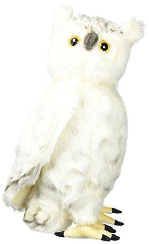 Hansa Moving Head Snow Owl Plush (Hansa Snow)