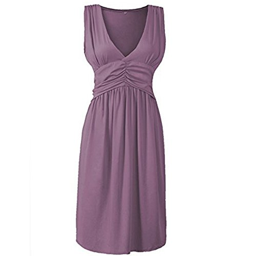 anca-demi-womens-v-neck-sleeveless-fit-and-flare-ruched-waist-skater-dress-plus-violet-xl