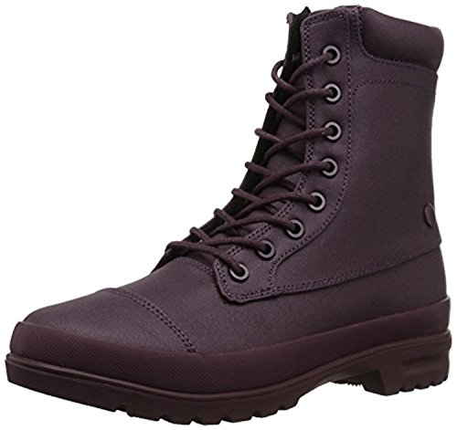 DC Shoes Women's Amnesti TX Lace Up Boots Maroon 10 & Cooling Towel (Dc Shoes Boots)