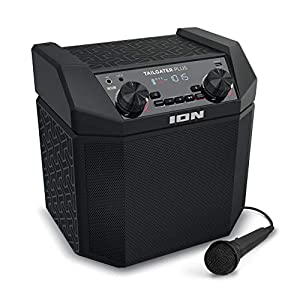 ION Audio Tailgater Smart | 50W Rechargeable Bluetooth Speaker