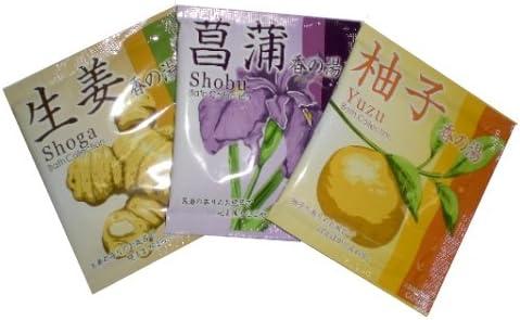 入浴剤 香の湯(日本古来の季節風呂)3種・各100包・計300包セット/日本製