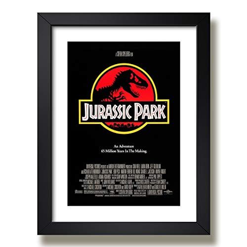 Quadro Jurassic Park Filme Cinema Tv Decorativo Quarto Sala Paspatur Pronto para Pendurar