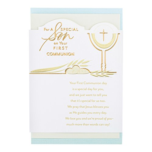 First Communion - Inspirational Boxed Cards - Son