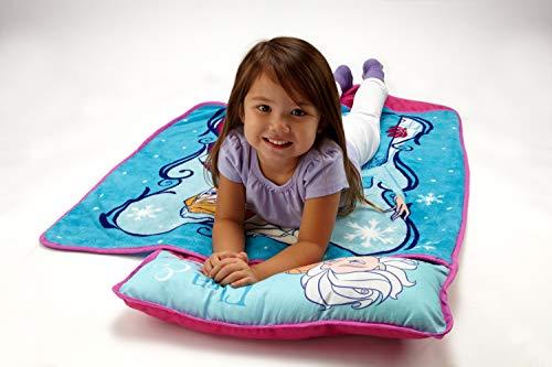 Disney Frozen Toddler Napmat, Teal, Aqua, Pink