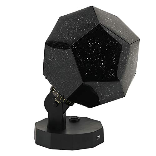 Light DIY Night Baby Star Projector Multicolor Changing Lighting LED Starry Rotating