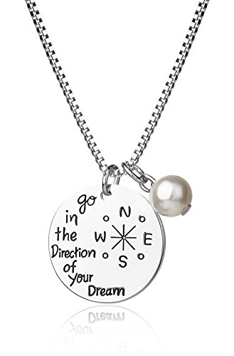 (Majesto Inspirational Necklace for Women Teen Girl Mom - 18K Gold-Plated – Dream Fashion Jewelry Prime Gift)