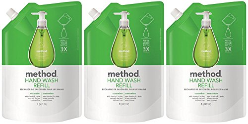 Expert choice for method hand soap refill cucumber