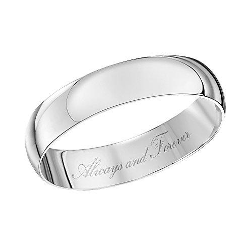 Theia Bague 9carats (375/1000) Or blanc Unisexe - Taille 49 (15.6)