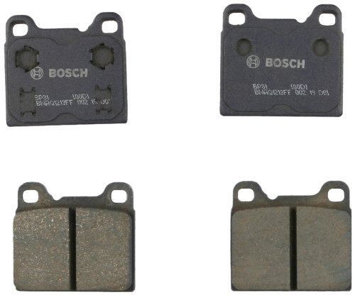 Bosch BP31 QuietCast Premium Disc Brake Pad (1972 Saab 99 Brake)
