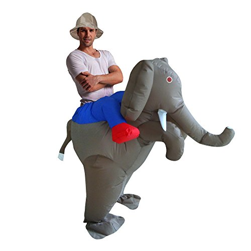 Cute Sailor Costumes Ideas (Inflatable Elephant Animal Suit Blow Up Fancy Dress Funny Costume Halloween (Adult))
