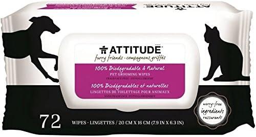 ATTITUDE - Toallitas Higienicas Naturales para Perros - - Sin ...