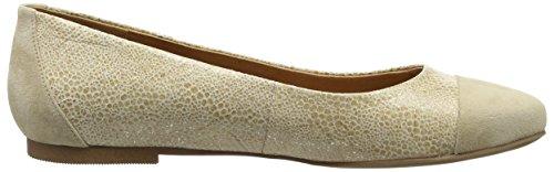 Brax Damen Pumps - Bailarinas Mujer Dorado - Gold (091 oro)