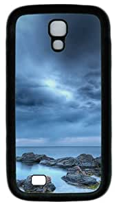 Cool Painting Cloud stone sea PC Silicone Case Cover for Samsung Galaxy S4/I9500 wangjiang maoyi