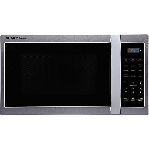Sharp 0.9-cu ft 900-Watt Countertop Microwave