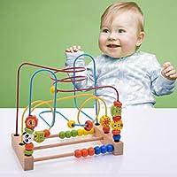 Miklan Activity Beaded Labyrinth Multi-Functional Education Children