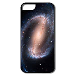 IPhone 5 5S Covers, Barred Spiral Galaxy White/black Cases For IPhone 5S