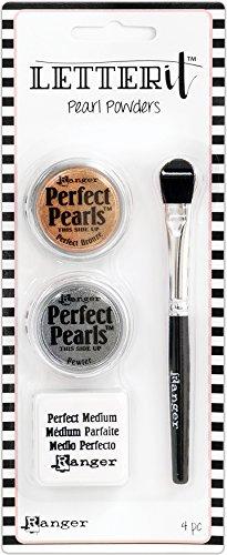 - Ranger # #1 Letter It Pearls Powder Set