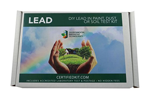 Prepaid Shipping Label (Professional Lead in Paint, Dust, or Soil Do It Yourself Test Kit by EIT – Prepaid Lab Testing and Shipping Perfect for your Home or Business, 5 pack)
