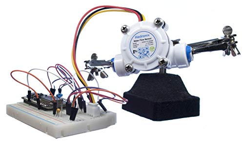 Hadronix 1/4 Quick-Connect Food-Grade Water Flow Meter Hall Sensor  HDRX-YF-S402B - Connectors Included - Arduino, Raspberry Pi, and Reverse  Osmosis