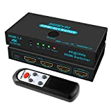 HDMI Switches SGEYR 3 Port HDMI Switcher 3 in 1 Out HDMI Switcher