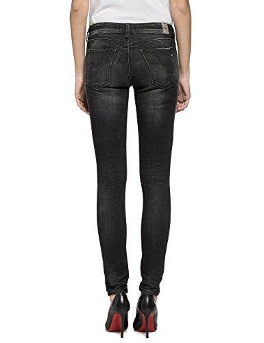 Replay Denim Luz Nero Donna Jeans black HHwr6q