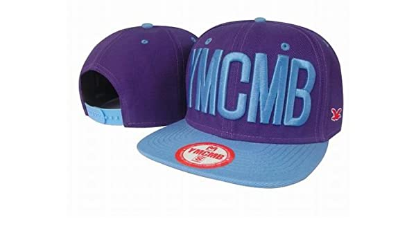 5f9632b055b Amazon.com   Ymcmb Fashion Cool Adjustable Snapback Hip-hop Baseball Cap Hat  Unisex   Sports   Outdoors