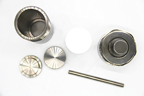 100ml,Teflon lined Hydrothermal Synthesis Autoclave Reactor,PTFE lined vessel (Customizable) by BAOSHISHAN (Image #1)
