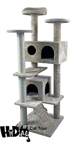 "50"" Hiding Cat Tree Special Cat Tree Tower Condo Furnitur..."