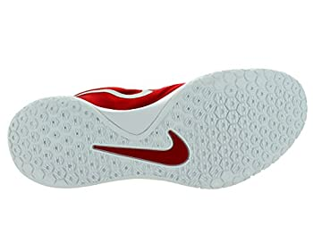 Nike Hyperchase Tb Mens Trainers 749554 Sneakers Shoes (Uk 12 Us 13 Eu 47.5, University Red Metallic Silver White 601) 3