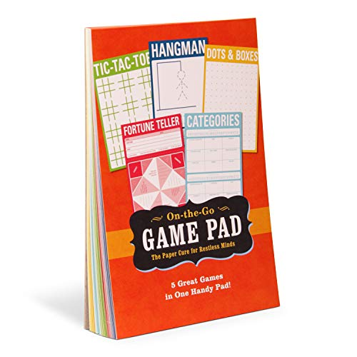 Knock Knock On-The-Go Game Pad 1, Travel Activity Pad for Kids, 6 x 9-inches (Game Pad For Kids)