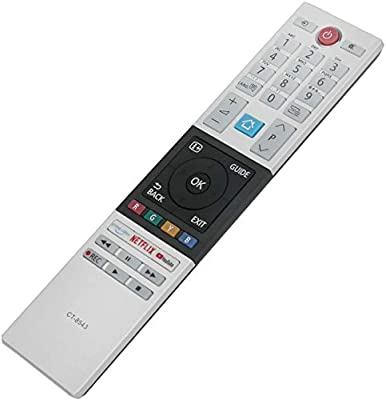 ALLIMITY CT-8543 RC42151P 30101775 Mando a Distancia reemplazado por Toshiba Smart TV 32W2863DG 32W2863DA 40L2863DG 43V5863DG 43B6863DG 49L2863DG 49U6863DG 49V5863DG 55V5863DG 55U7863DA: Amazon.es: Electrónica