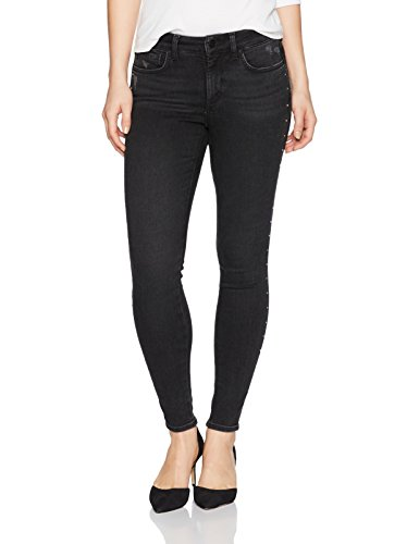 Exclusive Side Zip Pants - NYDJ Women's Petite Size Ami Skinny Legging Jeans in Future Fit Denim, Deep Campaign, 16P