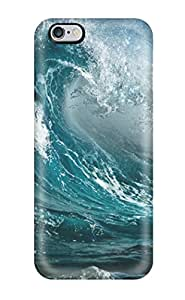 Case Cover Protector For Iphone 6 Plus Ocean Storm Waves Case by ruishername