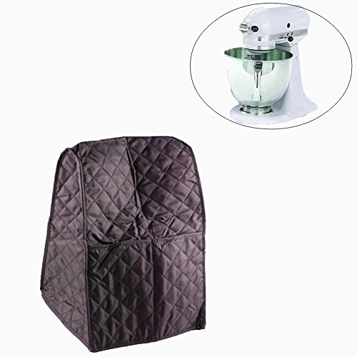 Mixer Cover for Kitchenaid for Sunbeam Cuisinart Hamilton Dustproof Stand Mixer Cover with Organizer Bag By Wadoy