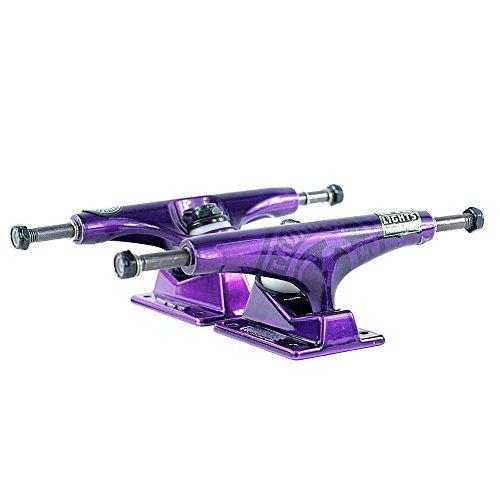 Thunder Purple Lights Strike Skateboard Trucks - Set of 2 (147(8.0