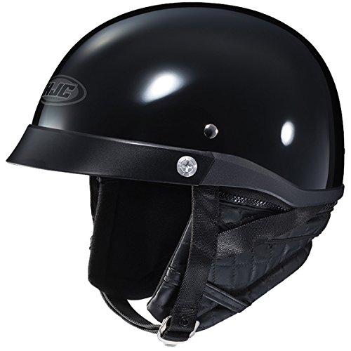 HJC CL-IronRoad Solid Half Helmet Gloss Black XL