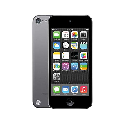 Apple iPod Touch 16GB (5th Generation) - Space Grey - With Rear Camera (Renewed) 41h8nZyWKML