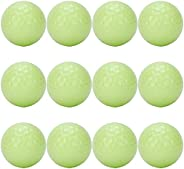 Glow Balls, Floating Balls Led Balls Glow in The Dark Luminous Night Balls 12PCS for Family for Lovers for Bus