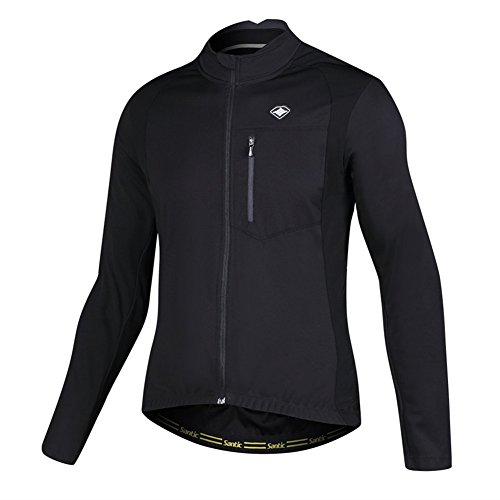 Santic Bike Winter Jacket Windproof Fleece Thermal Warm UP Cycling Bicycle Jerseys Long Sleeves from Santic
