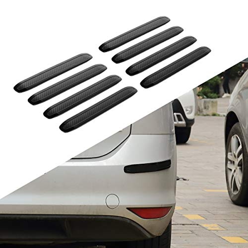 JoyTutus Car Bumper Guard Strips Rubber Anti-Scratch for Car SUV Pickup Truck Car Bumper Protector (8 - Guard Strip