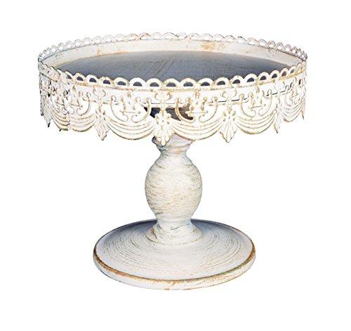 10 inch Diameter x 9 inches High Metal Decorative Cake (Colored Styrofoam Plates)