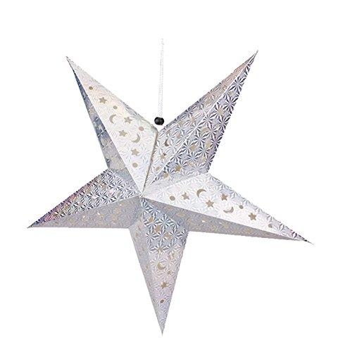 Luerme 30cm Paper Star Lantern Hanging