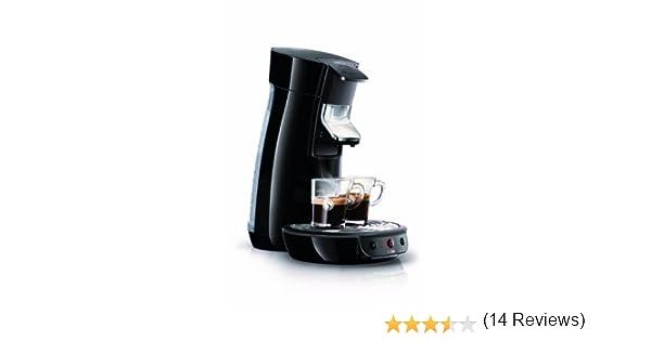 Philips HD7825/62 - Sistema de monodosis de café Senseo color negro,1450W, prepara 1 o 2 tazas de café en menos de un minuto, variedad de mezclas y ...