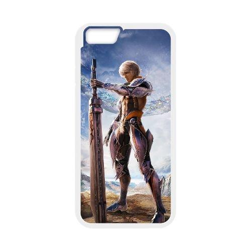 Final Fantasy 002 coque iPhone 6 Plus 5.5 Inch Housse Blanc téléphone portable couverture de cas coque EOKXLLNCD11349