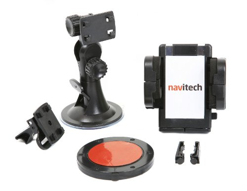 Navitech In Car Suction Cup Windscreen / Air Vent / Dash Disc 3 in 1 Universal 360 degree operation Mount Cradle with Road Cushion Technology for the Blackberry bold 9900, ()