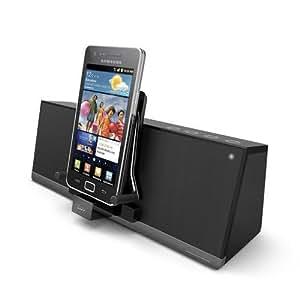 iLuv MobiAir - Base de carga y reproducción para smartphones con micro USB